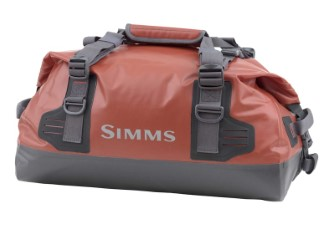 Simms Dry Creek Duffel S Bright Orange