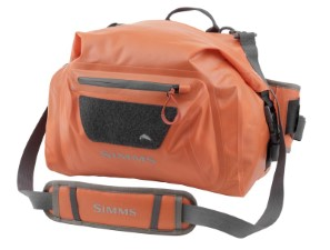 Simms  Dry Creek Hip Pack Bright Orange