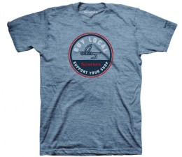 Simms Buy Local Light Blue Heather