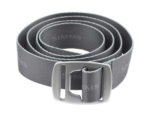 Simms Bottle Opener Belt Carbon
