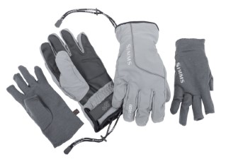 Simms ProDry Glove Plus Liner Steel