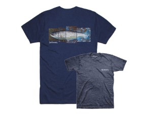 Simms DeYoung Seatrout Navy Heather T-Shirt