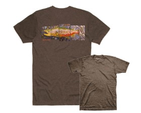 Simms DeYoung Brown Trout T-shirt