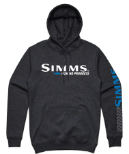 Simms Fast Walleye Hoody Charcoal Heather