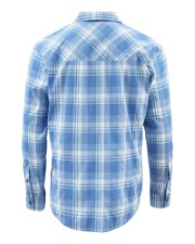 Simms Outpost Shirt Pacific Plaid