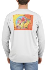 Simms Solar Tech Tee Expressionist Permit Sterling