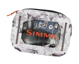 Simms Dry Creek Gear Pouch 4L Cloud Camo Grey