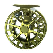 Waterworks Lamson Guru Olive Green Fly Reel