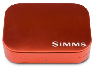 Simms Wheatley Fly Box Orange