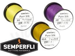 Semperfli Pure Silk Thread