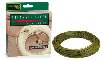 Royal Wulff Triangle Taper Floating Olive