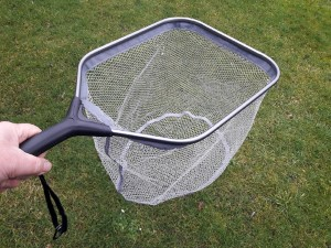 Landing Net Alu Rubber Coated Net