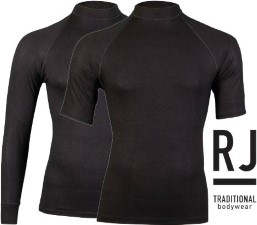 RJ Breathable Thermo Shirt Black