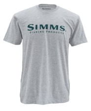 Simms Wordmark Ash Grey