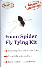 Foam Spider Fly Tying Kit