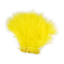 Hareline Blood Quill Marabou Yellow