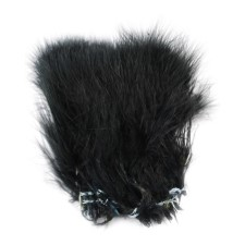 Hareline Blood Quill Marabou Black
