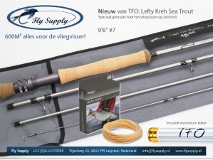 TFO Silver Seatrout Rod Incl Alu Rod Tube