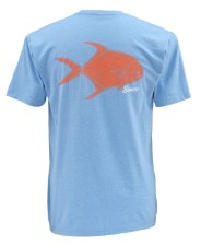 Simms Tightlines Permit LightBlue Heather