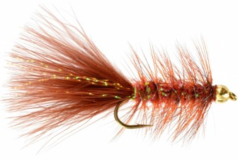 Umpqua G.B. Crystal Bugger Copper/Brown #10