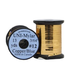 Uni Mylar Tinsel Copper/Blue