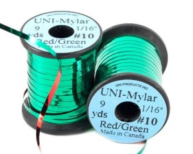 Uni Mylar Tinsel Red/Green